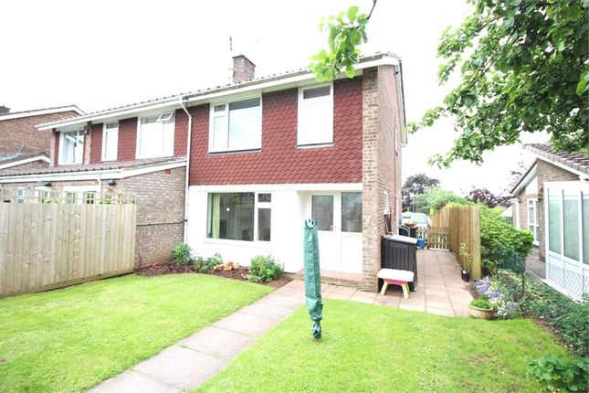 Thumbnail Semi-detached house for sale in Hillcrest, Caerleon, Newport