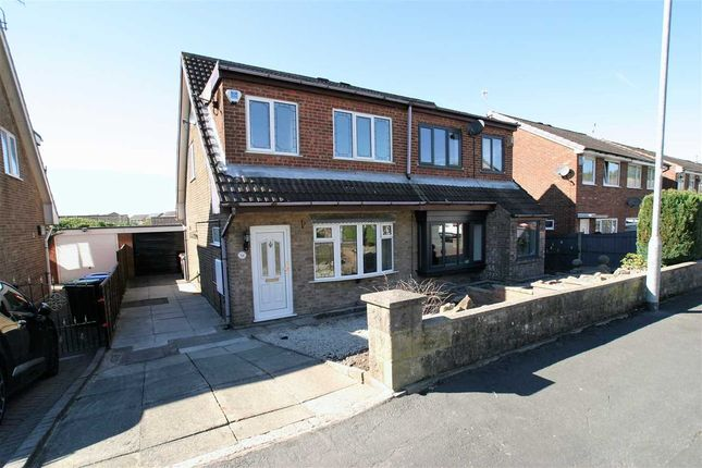 Thumbnail Semi-detached house to rent in Webster Avenue, Parkhall, Stoke On Trent
