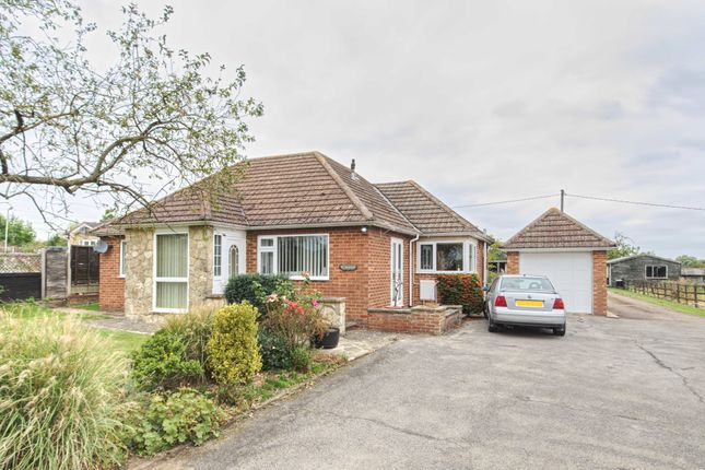 Thumbnail Detached bungalow for sale in Isham, Kettering