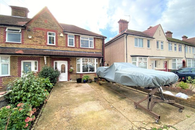 Thumbnail End terrace house for sale in Cranborne Waye, Hayes, Middlesex