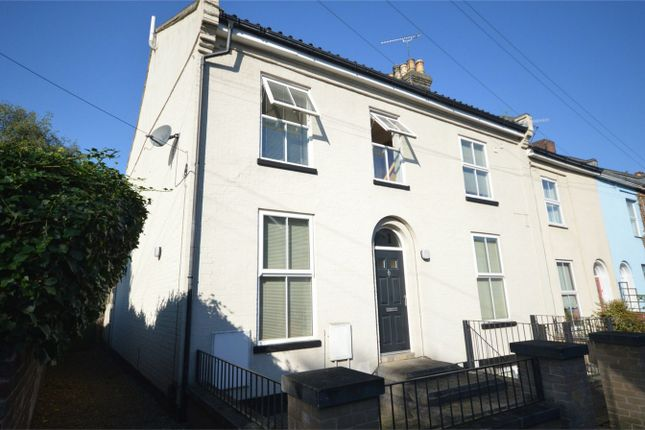 Thumbnail End terrace house for sale in Gladstone Street, Norwich