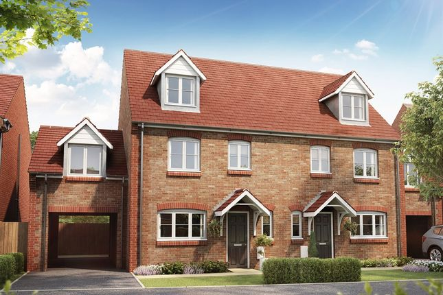 "Thumbnail Semi-detached house for sale in ""The Leicester Link "" at Hatfield Road, St Albans"