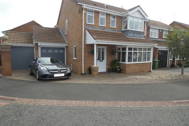 Thumbnail Detached house for sale in Twickenham Court, Seghill, Northumberland