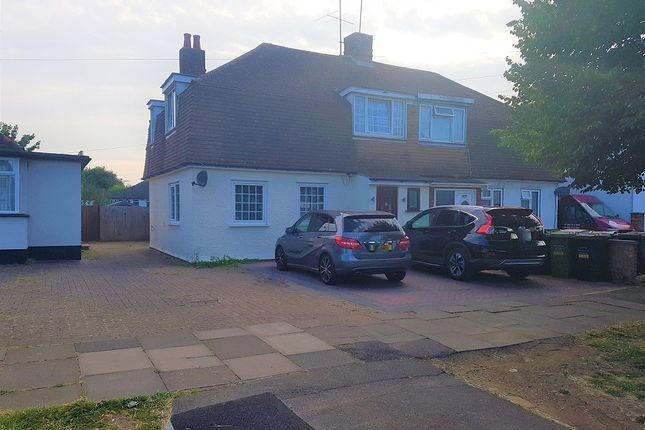 Thumbnail Semi-detached house to rent in Mayne Avenue, Leagrave, Luton