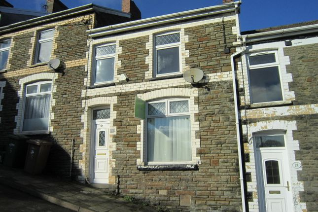 Thumbnail Terraced house for sale in Hill Street, Bargoed