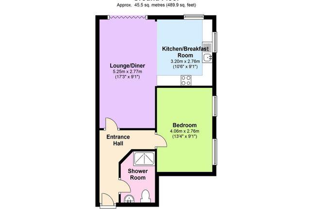 Floor Plan of Grosvenor House, Grosvenor Park, Tunbridge Wells TN1