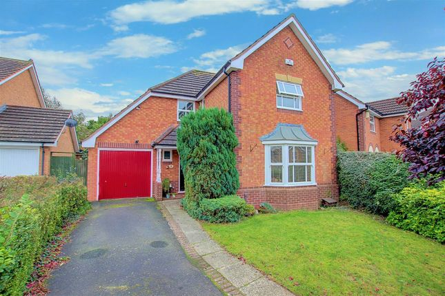 4 bed detached house for sale in Corfe Avenue, Warndon, Worcester WR4