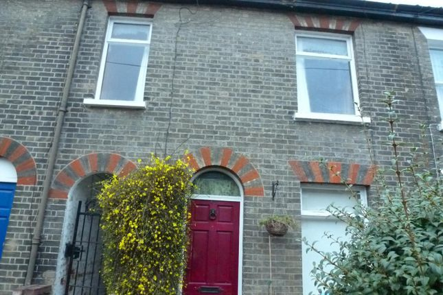 Thumbnail Terraced house to rent in Newmarket Street, Norwich