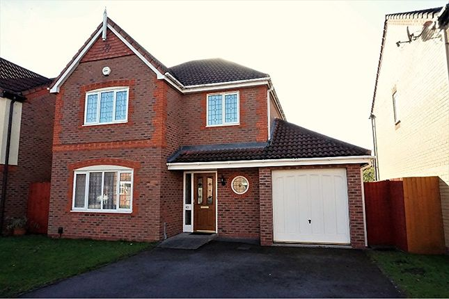 Thumbnail Detached house for sale in Stockley Crescent, Solihull
