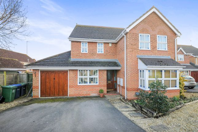 Thumbnail Detached house for sale in Moss Mead, Chippenham