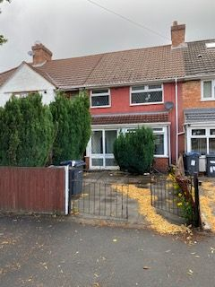Thumbnail Terraced house for sale in Caldwell Road, Birmingham