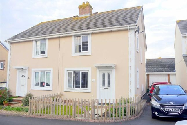 Thumbnail Semi-detached house to rent in Teal Avenue, Weymouth, Dorset