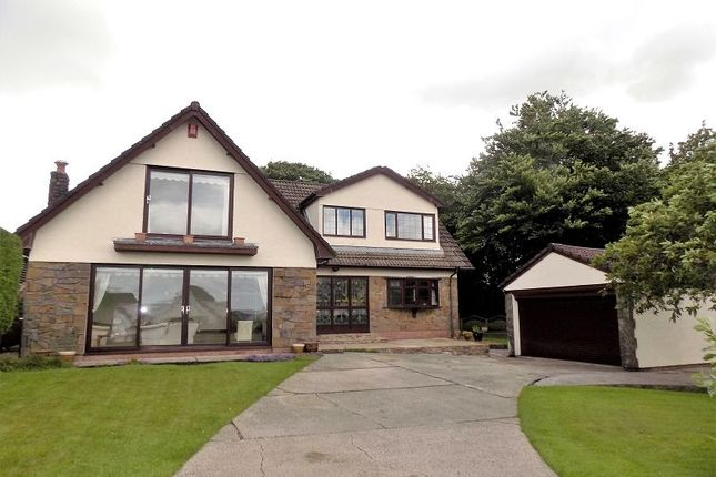 Thumbnail Detached house for sale in Daphne Close, Neath, Neath Port Talbot.