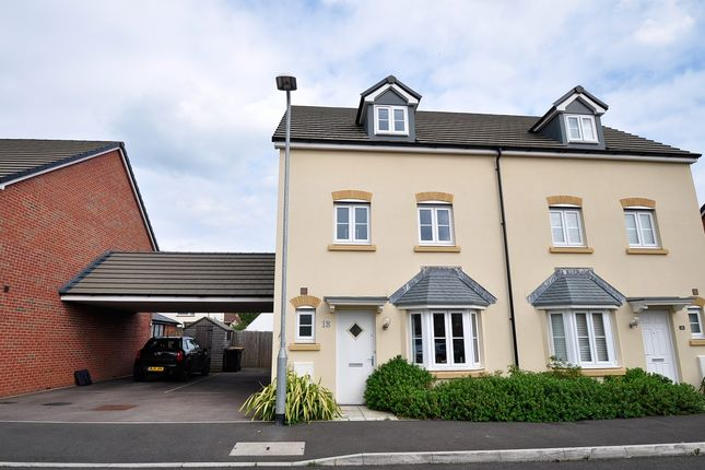 Thumbnail Town house to rent in Maplewood, Langstone, Newport