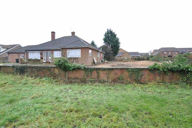 Thumbnail Detached bungalow for sale in Guarlford Road, Malvern