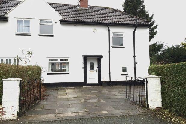 Thumbnail Property to rent in Bradbury Avenue, Altrincham