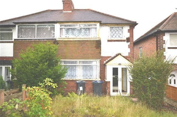 2 Bed Semi Detached House For Sale In Atlantic Road Great Barr Birmingham