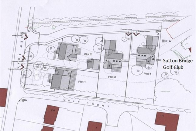 Thumbnail Land for sale in New Road, Sutton Bridge, Spalding