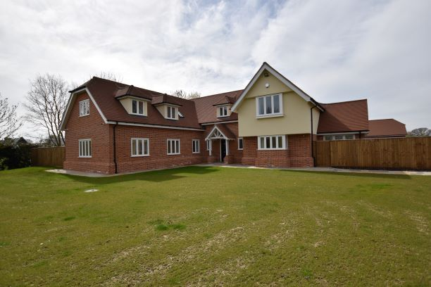 Thumbnail Detached house for sale in Great Tey Road, Little Tey, Colchester
