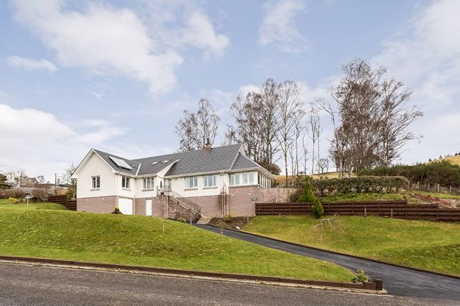 Thumbnail Detached house for sale in Pitcastle South, Pitlochry, Perthshire