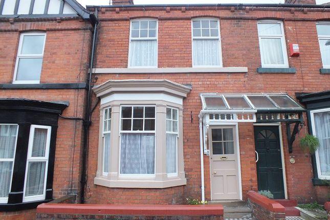 Thumbnail Terraced house to rent in Tennyson Avenue, Scarborough
