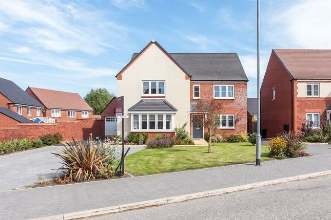 Thumbnail Detached house for sale in Loachbrook Farm Way, Somerford, Congleton