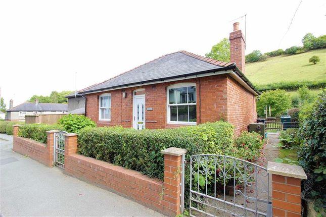 Thumbnail Detached bungalow for sale in Llwyn, Watergate Street, Llanfair Caereinion, Welshpool, Powys