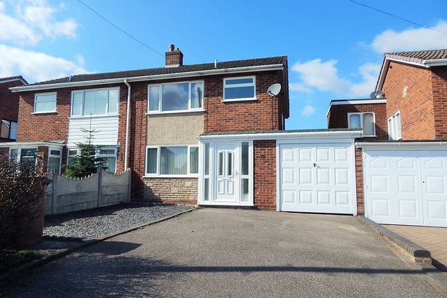 Thumbnail Semi-detached house to rent in Morley Road, Burntwood
