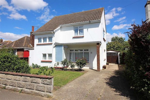 Thumbnail Detached house for sale in Gainsford Avenue, Clacton-On-Sea