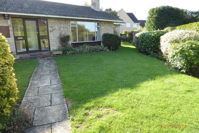 Thumbnail Detached bungalow to rent in Hillside Close, Woodmancote, Cheltenham