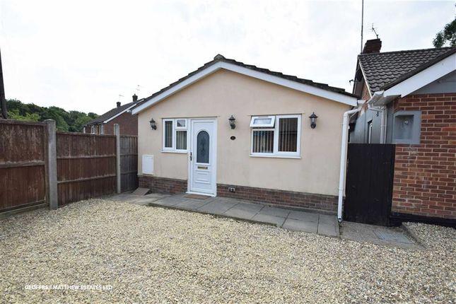 Thumbnail Detached bungalow for sale in Lancaster Gate, Sawbridgeworth, Herts
