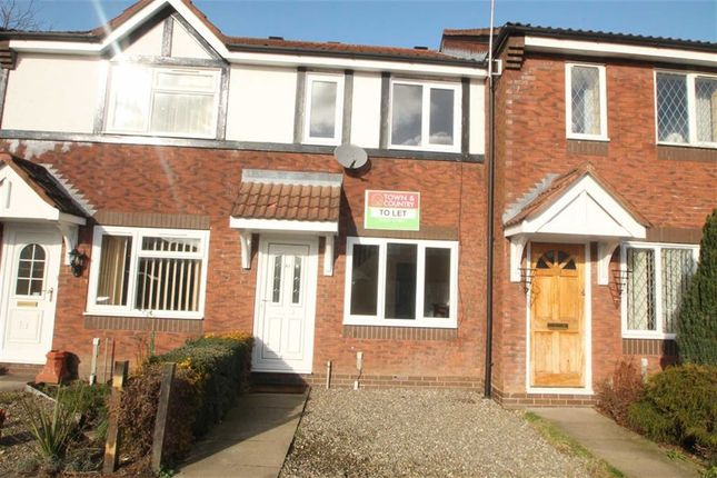 Thumbnail Town house to rent in Heather Close, Oswestry