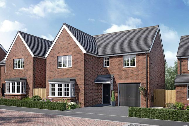 """Thumbnail Detached house for sale in """"The Grainger"""" at Handley Hill, Winsford"""