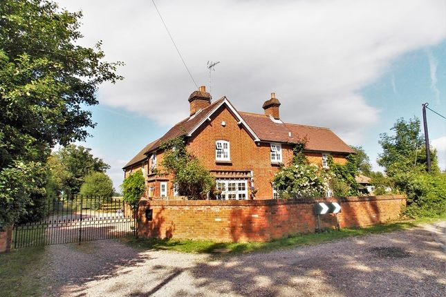 Thumbnail Farmhouse for sale in Beenham Hill, Beenham, Reading