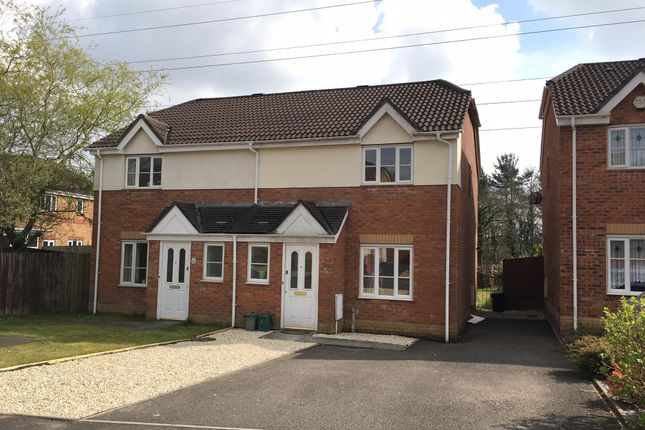 Thumbnail Semi-detached house to rent in Dan Danino Way, Morriston, Swansea