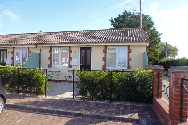 Thumbnail Terraced bungalow to rent in Sandbay, Weston-Super-Mare