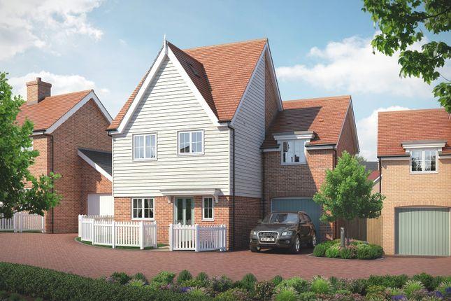 Thumbnail Link-detached house for sale in Barker Close, Bishop'S Stortford, Hertfordshire