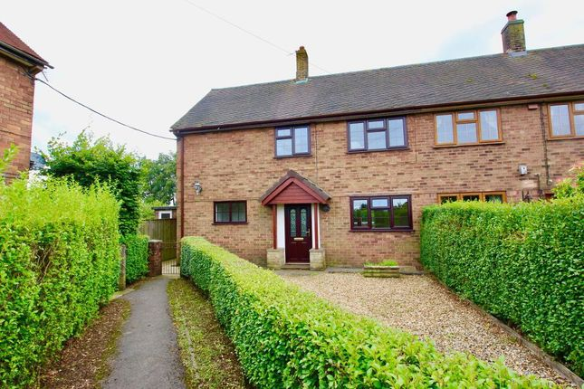 Thumbnail Semi-detached house to rent in Moss Lane, Hilderstone, Stafforshire
