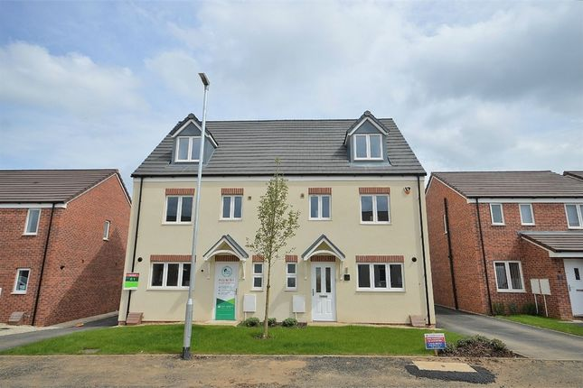 Thumbnail Semi-detached house for sale in Northfield Way, Kingsthorpe, Northampton