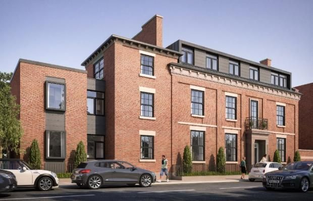 Thumbnail Flat for sale in The Sorting Office Apartments, 42 West Cliff Drive, Preston
