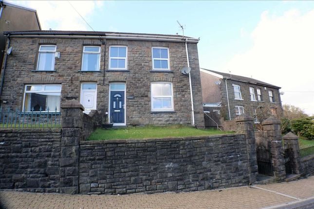 Thumbnail Semi-detached house for sale in Church Terrace, Penrhiwfer, Tonypandy