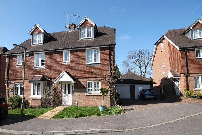 Thumbnail Semi-detached house for sale in Rowan Close, Banstead