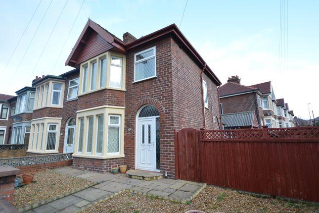 Semi-detached house for sale in Baldwin Grove, Blackpool