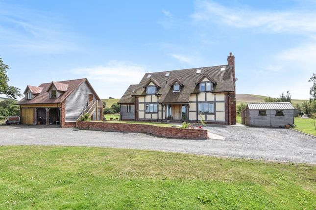 Thumbnail Detached house for sale in St. Harmon, Rhayader, Powys