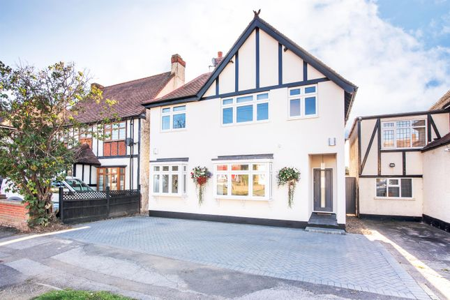 Thumbnail Detached house for sale in Redden Court Road, Romford