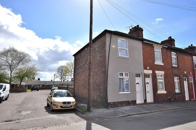 Thumbnail End terrace house for sale in Cromer Street, May Bank, Newcastle