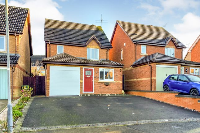 Thumbnail Detached house for sale in Priors Meadow, Southam
