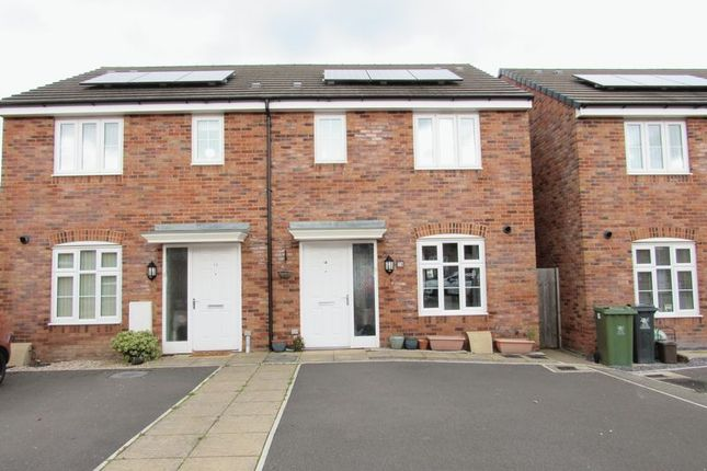 Thumbnail Semi-detached house for sale in Brython Drive, St. Mellons, Cardiff