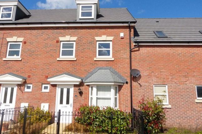Thumbnail Terraced house to rent in Rudloe Drive, Kingsway, Gloucester
