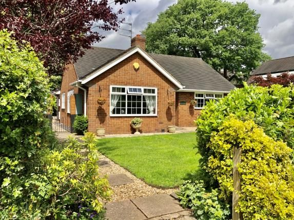 Thumbnail Bungalow for sale in The Green, Barlaston, Stoke On Trent, Staffs